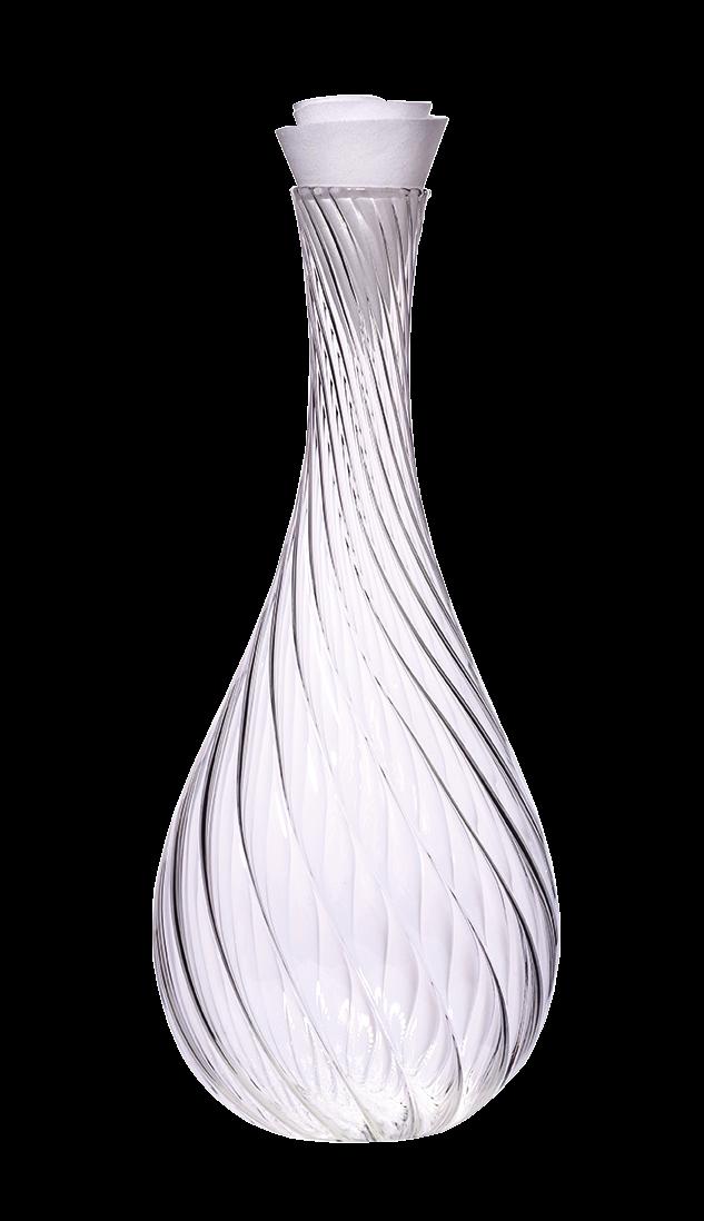 Carafe Spirale & Bouchon Corolle